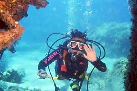 Capo Enfola Subacquea Isola d' Elba immersioni sub